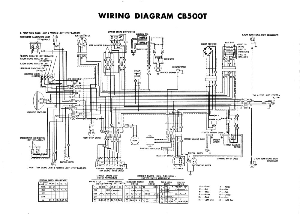medium resolution of have high quality cb500t wiring diagram