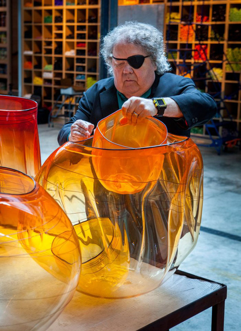 Dale Chihuly York Botanical Garden Of