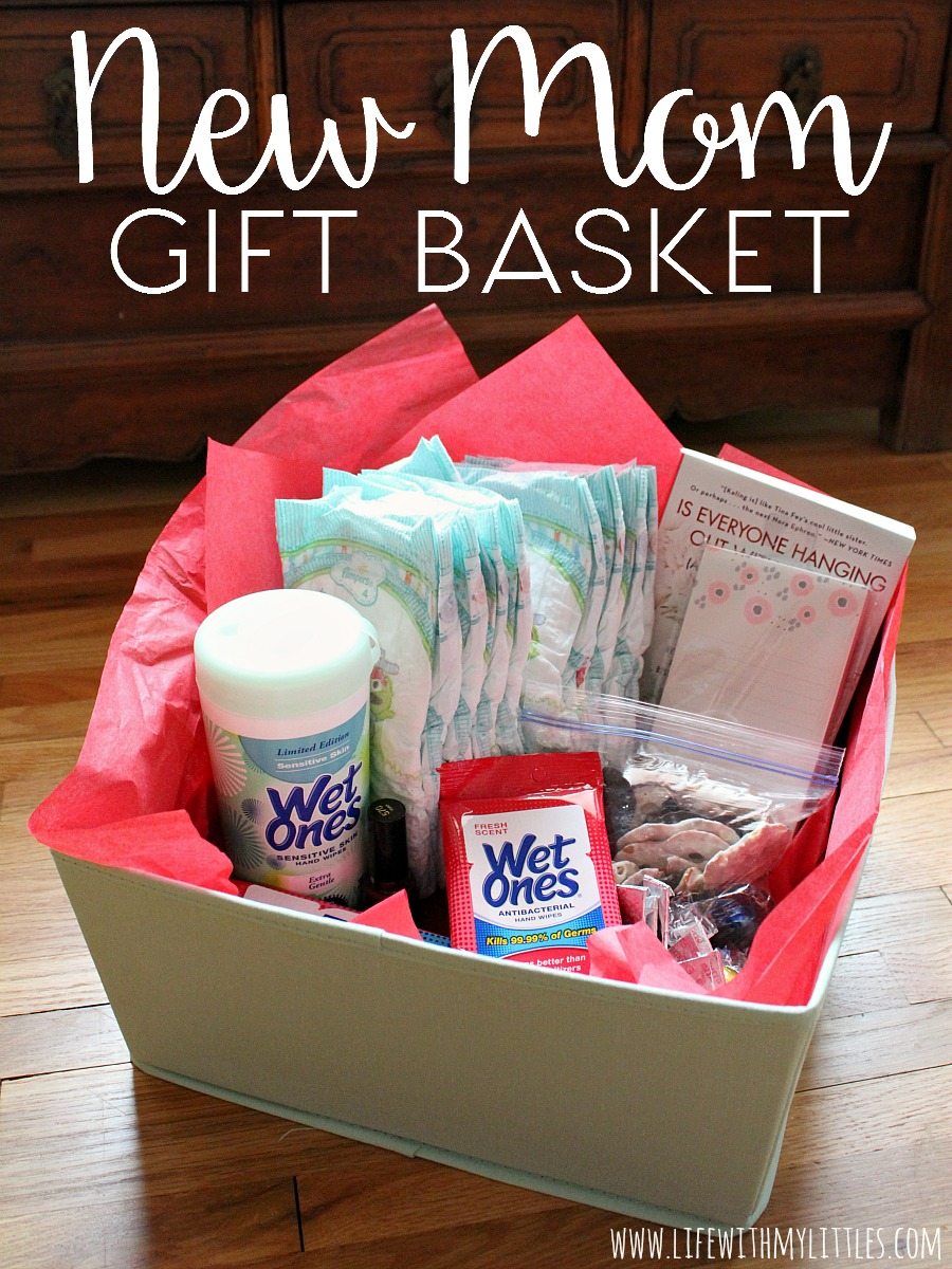 New Mom Gift Basket Life With My Littles