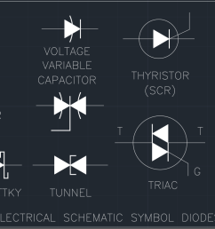 electrical schematic symbol diodes cad block and typical drawing electrical schematic symbols dwg electrical schematic symbol [ 1509 x 794 Pixel ]