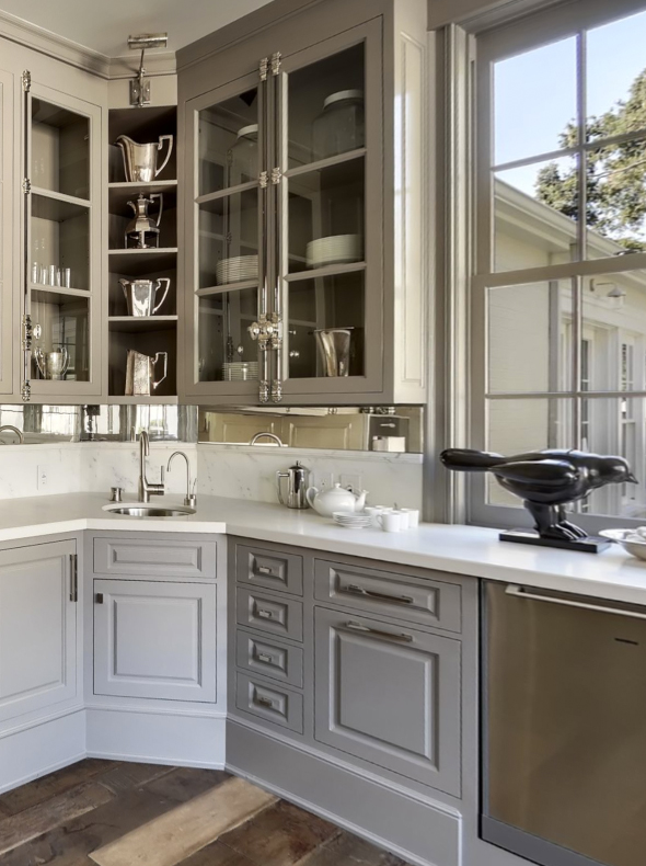 Upper Corner Kitchen Cabinet Solutions  Live Simply by Annie