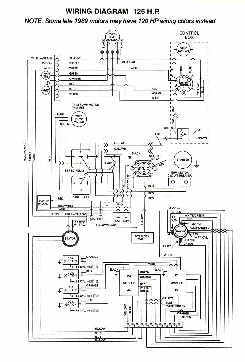 medium resolution of 125 hp wiring diagram wiring diagram blog ignition 4 cyl force wiring mercury marine ignition 4 cyl force wiring