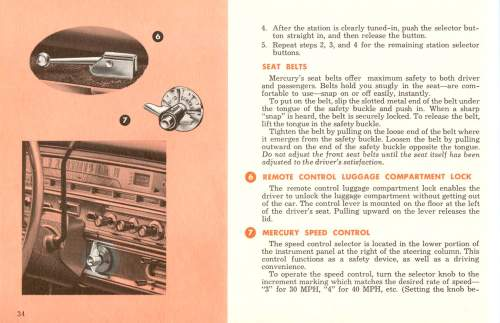 small resolution of 1961 mercury owners manual pg 35