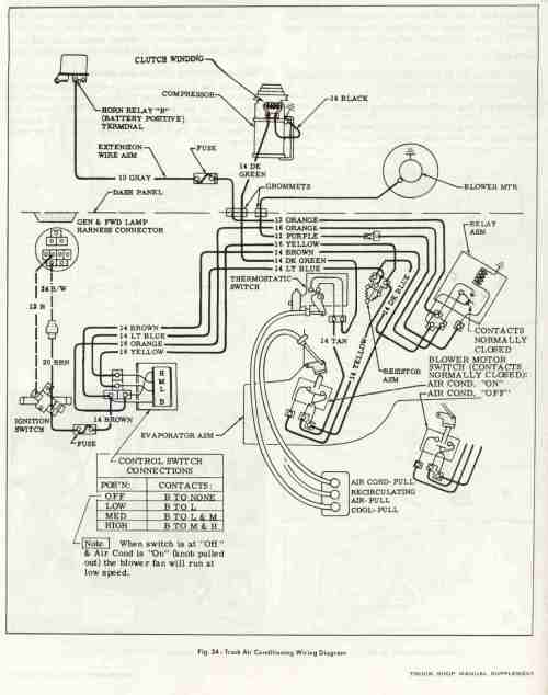 small resolution of ac heater fan wiring diagram for 66 c10