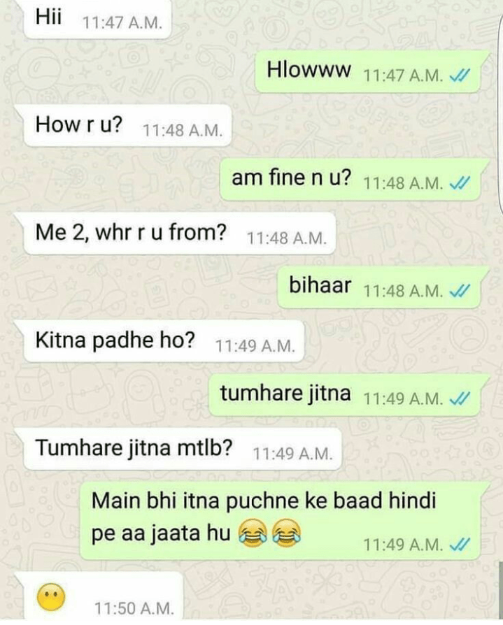 latest hilarious whatsapp chats