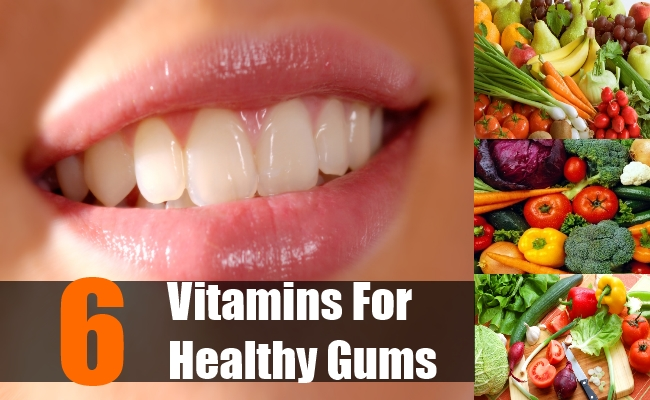 6 Best Vitamins For Healthy Gums - Essential Vitamins For ...