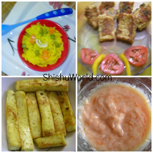 months food chart meal plan also for toddlers rh shishuworld