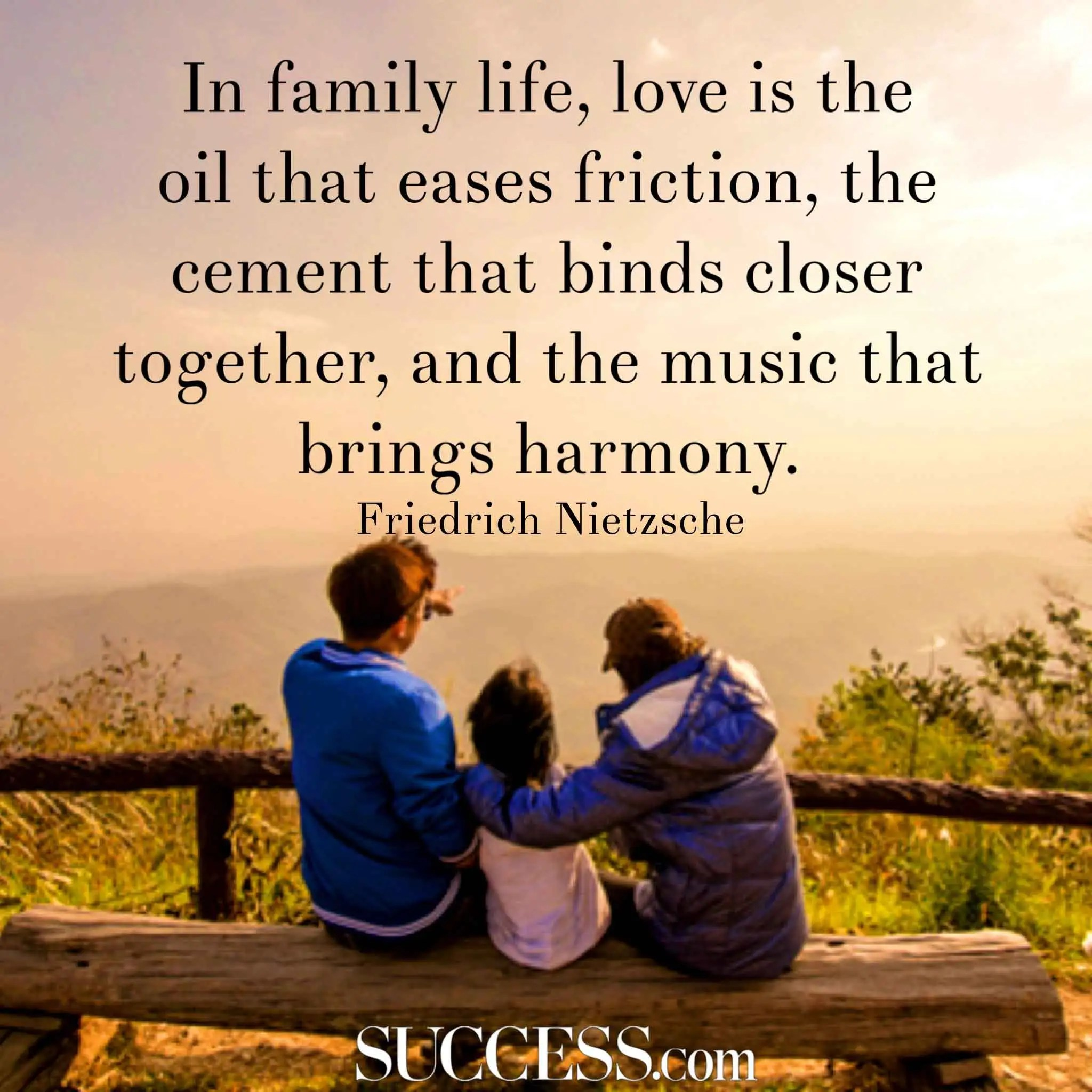 Image of: Images Success Magazine 14 Loving Quotes About Family