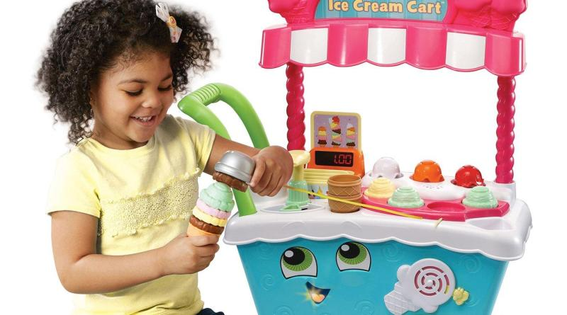 New Leapfrog Scoop And Learn Ice Cream Cart The Little
