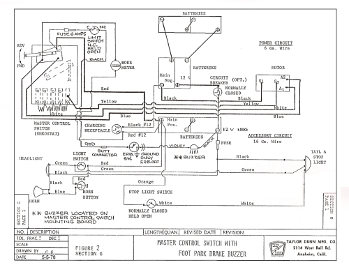 small resolution of taylor dunn wiring diagram b2 48