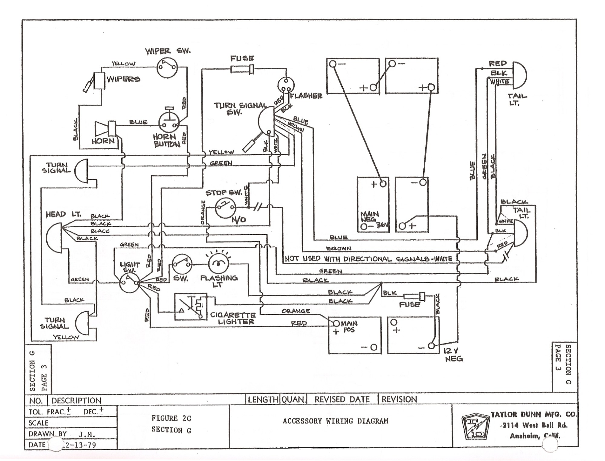 hight resolution of old yamaha electric golf cart battery diagram