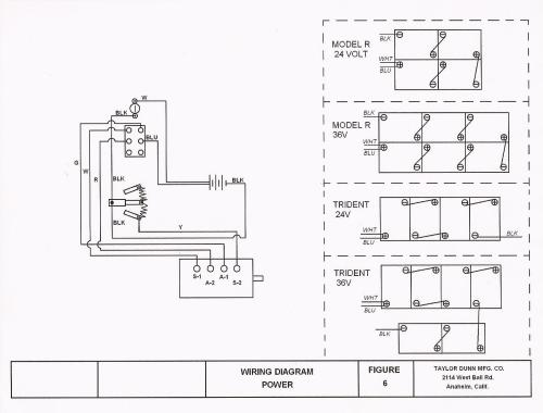 small resolution of taylor 210e wiring diagram wiring diagram paper taylor dunn b2 48 wiring diagram