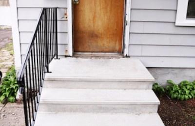 Quick Steps Precast Concrete 10967 Clark Rd C Inver Grove Heights   Precast Concrete Basement Steps   Bilco Doors   Bilco   Basement Entrance   Concrete Wall   Concrete Products