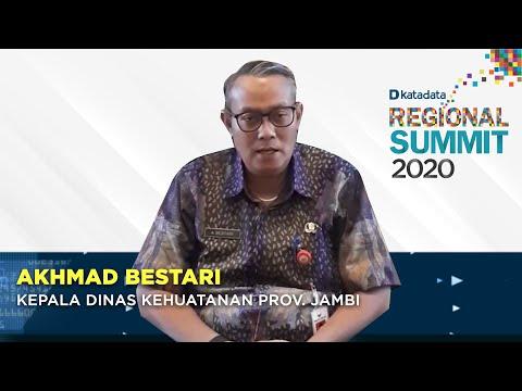 Katadata Regional Summit 2020: Akhmad Bestari   Katadata Indonesia