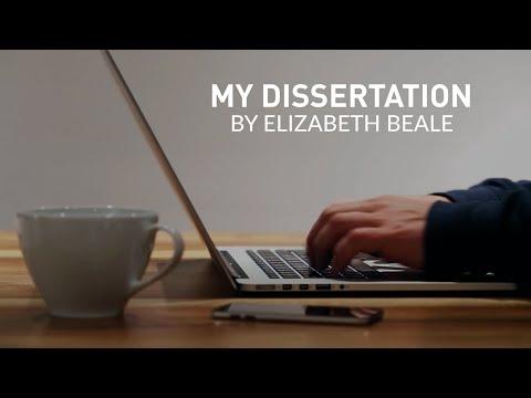 My Dissertation: By Elizabeth Beale