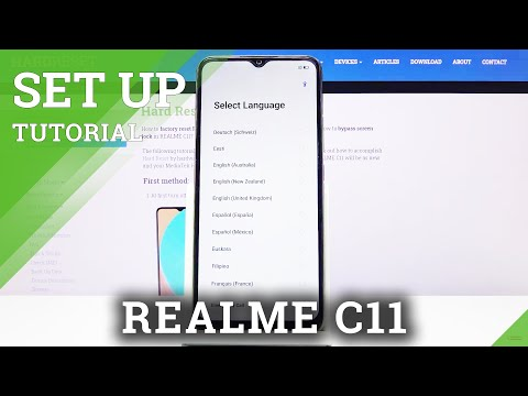 How to Set Up REALME C11 – First Configuration