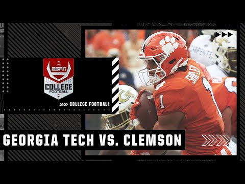 Georgia Tech Yellow Jackets at Clemson Tigers | Full Game Highlights