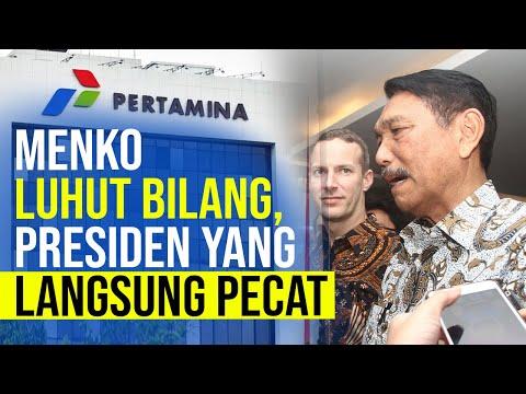Luhut Bilang Akibat Tak Pro Kebijakan TKDN, Jokowi Pecat Pejabat Pertamina
