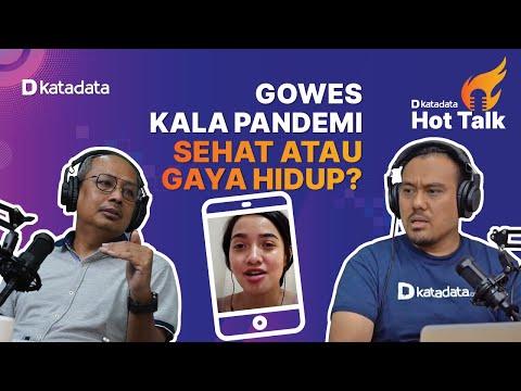 HOT TALK Eps 1: Gowes Kala Pandemi: Sehat atau Gaya Hidup? | Katadata Indonesia