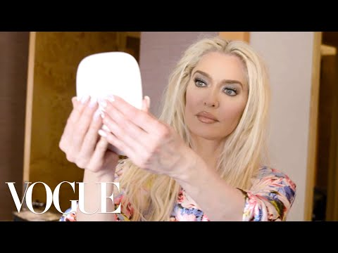Erika Jayne Gets Ready for the Marc Jacobs Fashion Show | Getting Ready With | Vogue