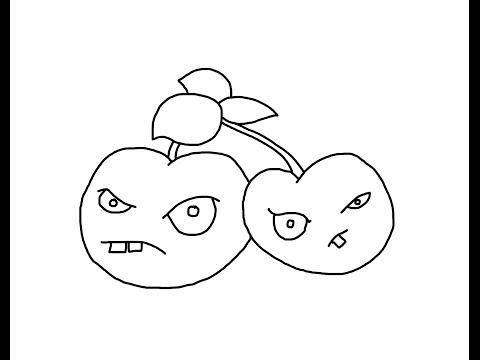 Dibujos Para Colorear De Melonpulta Plantas Vs Zombies