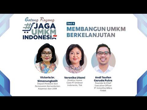 Membangun UMKM Berkelanjutan | Katadata Indonesia X Unilever Indonesia