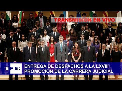 Entrega de despachos a la LXVIII promoción de la carrea judicial