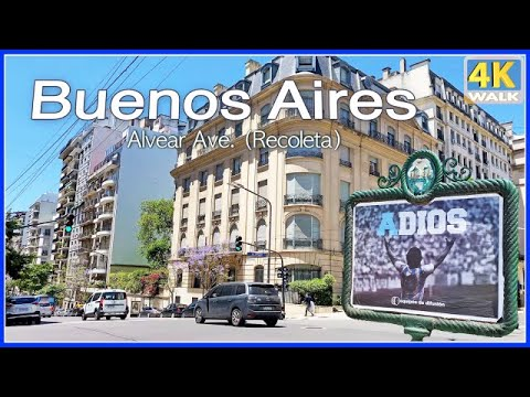 【4K】WALK Buenos Aires ARGENTINA 4k video HDR Travel channel