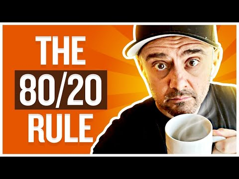 Use the 80/20 Ratio to Help You Find Happiness | Tea With GaryVee