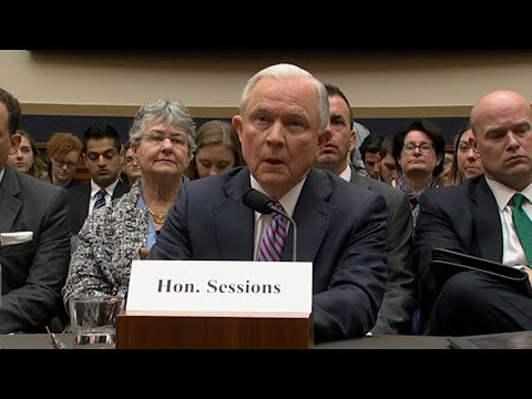 Sessions Questioned About Investigating Clinton