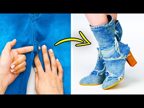 27 Outstanding Fashion DIYs || 5-Minute Clothes Revamps