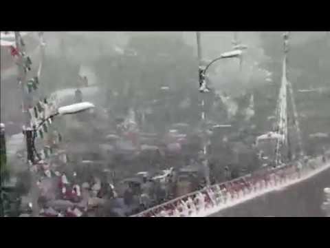 El régimen iraní moviliza a miles de manifestantes
