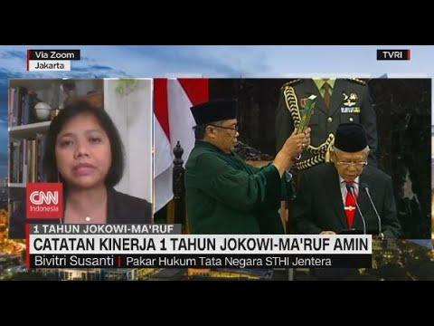 Catatan Kinerja 1 Tahun Jokowi-Ma'ruf Amin