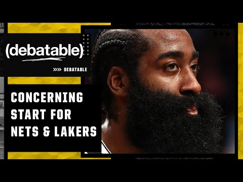 How concerned should the Nets and Lakers be with how their season has started?   (debatable)