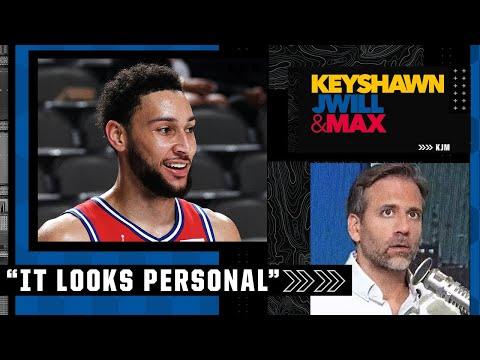 'It looks personal!' - Max's take on the Ben Simmons news   Keyshawn, JWill & Max