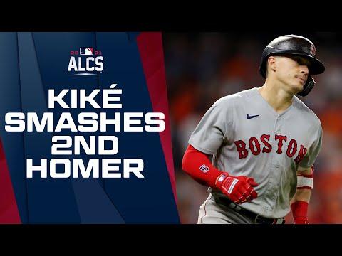 Kiké AGAIN!! Kiké Hernandez destroys 2nd homer of ALCS Game 1, continues crazy Postseason
