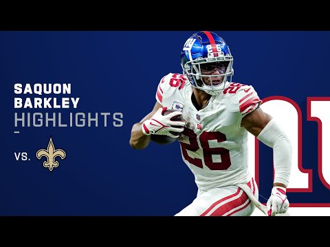 Saquon Barkley's Best Plays from 2-TD day | NFL 2021 Highlights