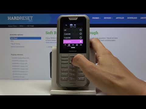 How to Change Camera Timer in NOKIA 800 Tough – Camera Settings