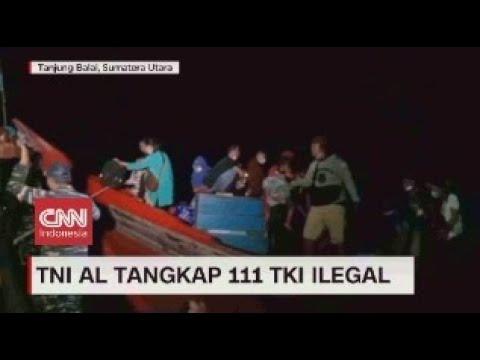 TNI AL Tangkap 111 TKI Ilegal