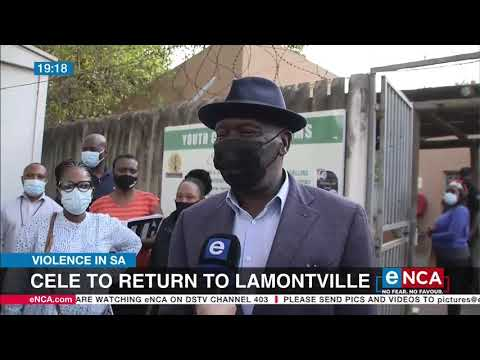 Violence in SA   Cele to return to Lamontville