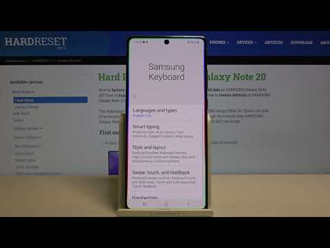 How to Turn Off Autocorrection in SAMSUNG Galaxy Note 20 – Find Autocorrection Options
