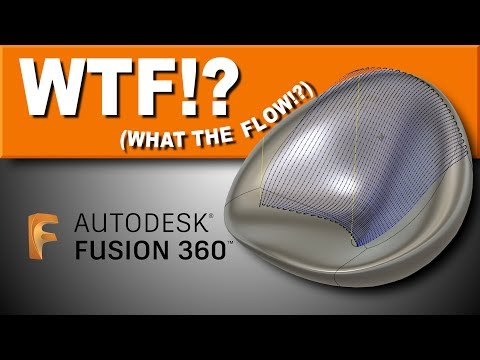 Tutorial: Using FLOW TOOLPATH  in Fusion 360   FF126