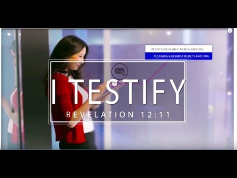 I TESTIFY LIVE BROADCAST (EPISODE 8) 8TH OCT. 2019
