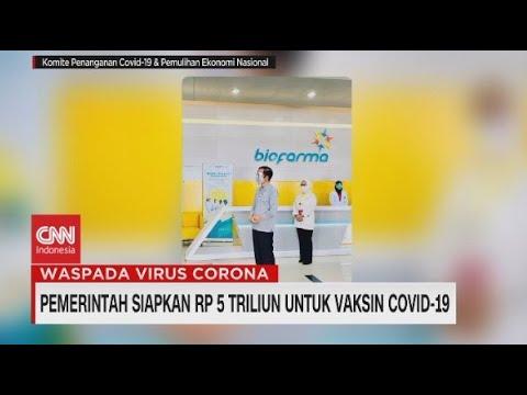 Pemerintah Siapkan Rp.5 Triliun Untuk Vaksin Covid-19
