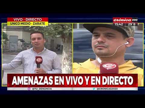 Familiares de Lucas Pertossi amenazaron a otra víctima de los rugbiers en vivo