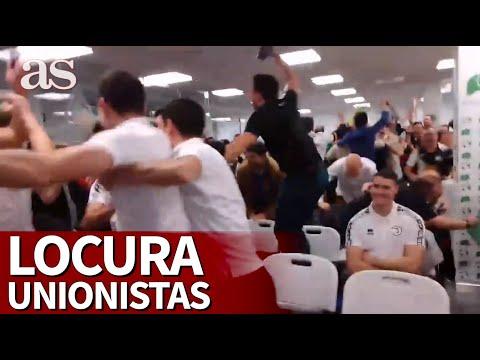 Locura se queda muy corto: los jugadores de Unionistas al tocarles el Real Madrid  Diario As