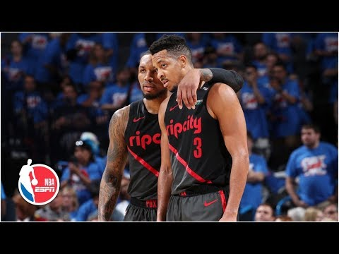 Blazers' Lillard and McCollum combine for 51 points in Game 4 win | NBA Highlights