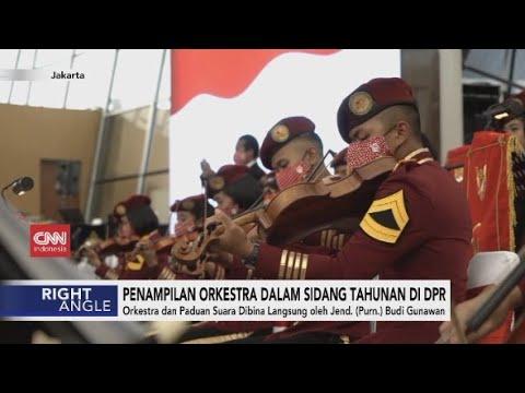 Penampilan Orkestra Dalam Sidang Tahunan di DPR