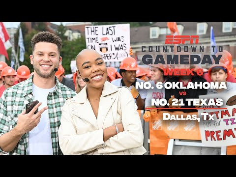 Countdown to GameDay Week 6: No. 6 Oklahoma vs. No. 21 Texas in Dallas, TX