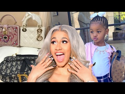 Cardi B Goes on Chanel SHOPPING SPREE for Daughter Kulture
